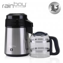 316 roostevaba terasest esmaklassiline veedestillaator Rainboy Sealion klaasist karahviniga